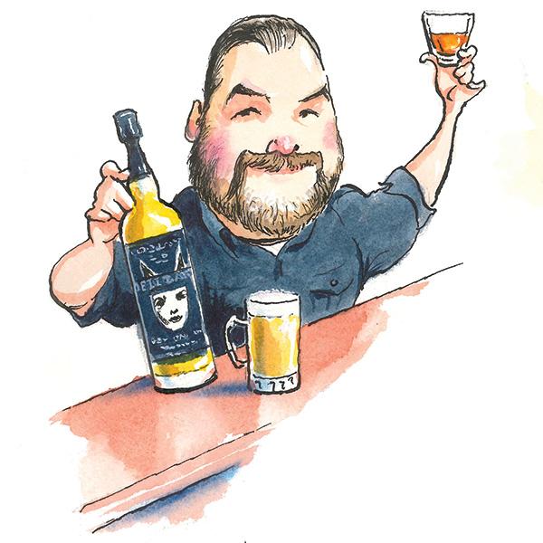 Illustration of Mike Miller.