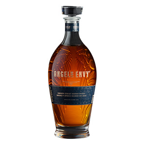 Angel's Envy Mizunara Oak Cask-Finished Kentucky Straight bottle.