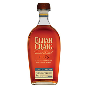 Elijah Craig Toasted Barrel Kentucky Straight bottle.