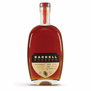 Barrell Cask Strength Blend of Straight Bourbons (Batch 025) bottle.