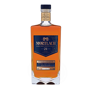 Mortlach 21 year old (Diageo Special Releases 2020) bottle.