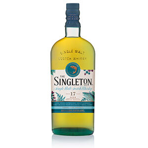 The Singleton of Dufftown 17 year old (Diageo Special Releases 2020) bottle.