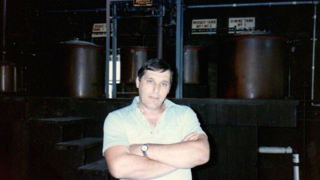 Distiller Dick Stoll at Michter's Pennsylvania distillery