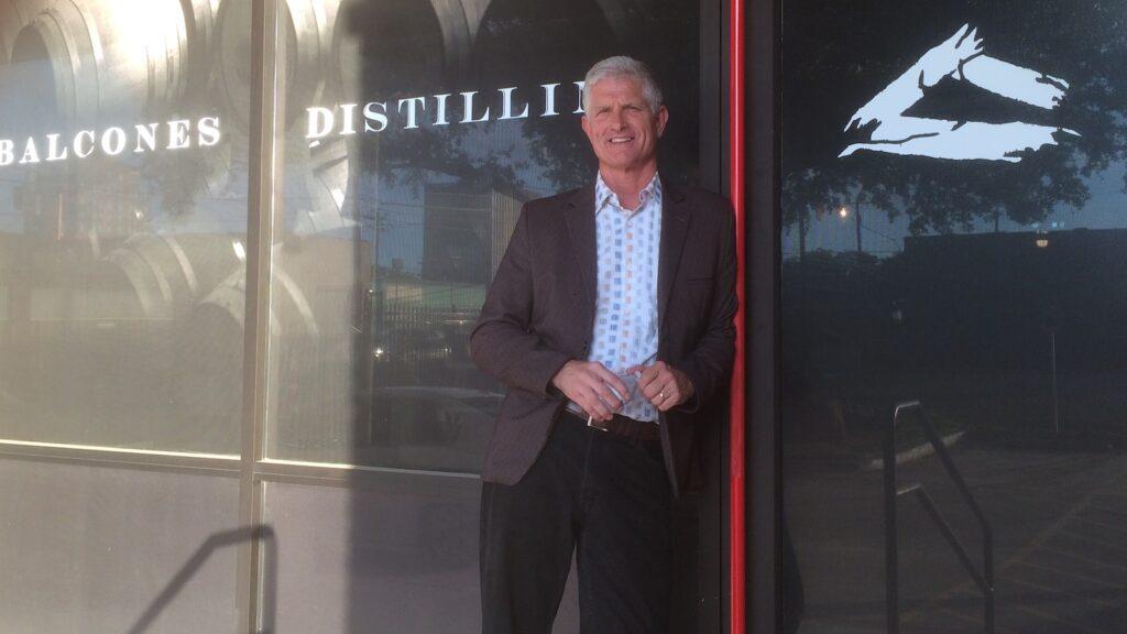 Greg Allen, chairman of Balcones Distilling.