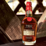Maker's Mark 2020 limited edition stave profile SE4 and PR5 bottle on a wooden table