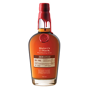Maker's Mark 2020 Limited Release Stave Profile SE4 x PR5 Kentucky Straight bottle.