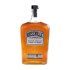Rossville Union Single Barrel Bottled in Bond Straight Rye