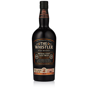 The Whistler Imperial Stout Cask-Finished bottle.