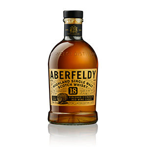 Aberfeldy 18 year old French Red Wine Cask-Finished (Batch 2920) bottle.