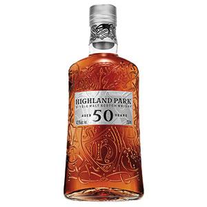Highland Park 50 year old bottle