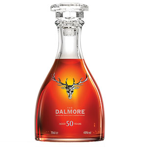 Dalmore 50 year old bottle