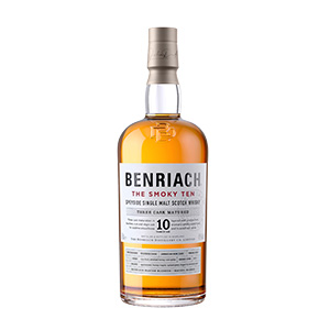 Benriach The Smoky Ten bottle.
