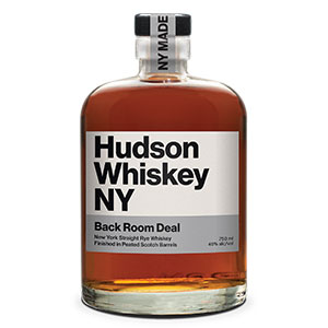 Hudson Whiskey Back Room Deal