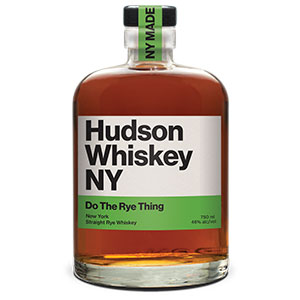 Hudson Do The Rye Thing New York Straight bottle.