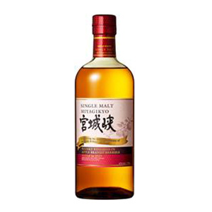 Miyagikyo Apple Brandy Barrel-Finished bottle.