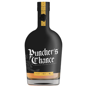 Puncher's Chance Kentucky Straight bottle.