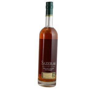 Sazerac 18 year old Kentucky Straight (Buffalo Trace Antique Collection 2020) bottle.