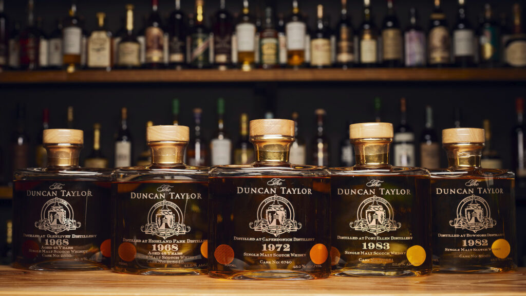 Bottles of Duncan Taylor whisky for sale at Whisky Auctioneer