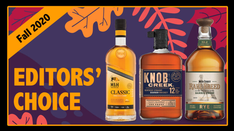 Fall 2020 Editors' Choice: Wild Turkey, Knob Creek, M&H