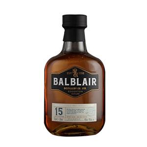 Balblair 15 year old bottle.