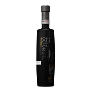 Octomore 10 year old (2020 Release) bottle.