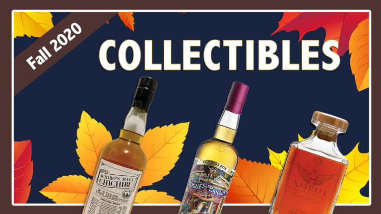 Fall 2020 Collectibles: Amrut, Chichibu, Compass Box