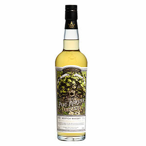 Compass Box The Peat Monster Arcana bottle.