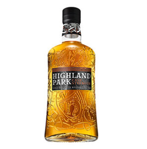 Highland Park Cask Strength (Release No. 1) bottle.