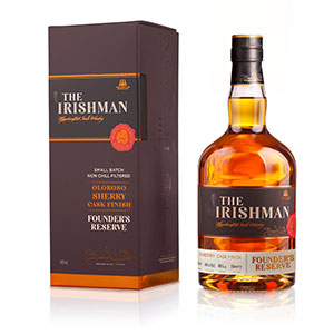 The Irishman Founder's Reserve Oloroso Sherry Cask-Finished