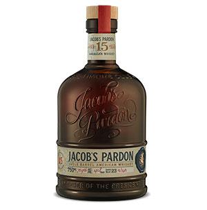 Jacob's Pardon 15 year old Single Barrel American Whiskey (No. 23) bottle.