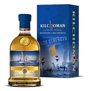 kilchoman machir bay cask strength festive edition