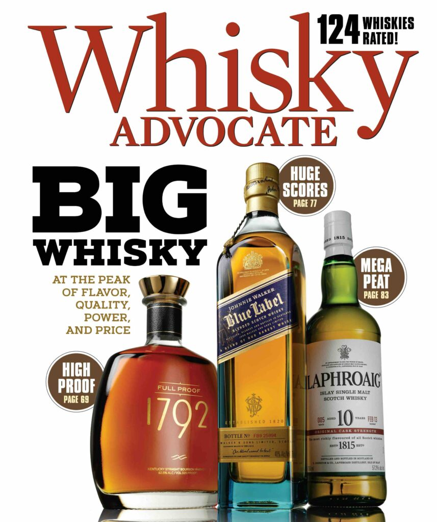 Fall 2020 cover of Whisky Advocate magazine