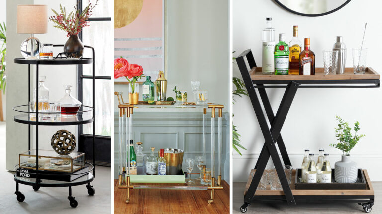 7 Beautiful Bar Carts Worthy of Your Whisky