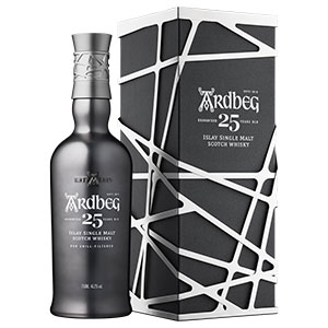 ardbeg 25 year old aged and caged