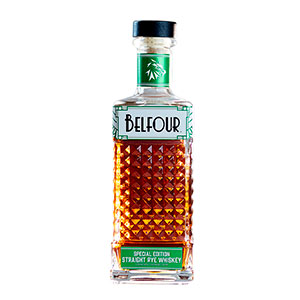 belfour limited edition 2020 rye bottle