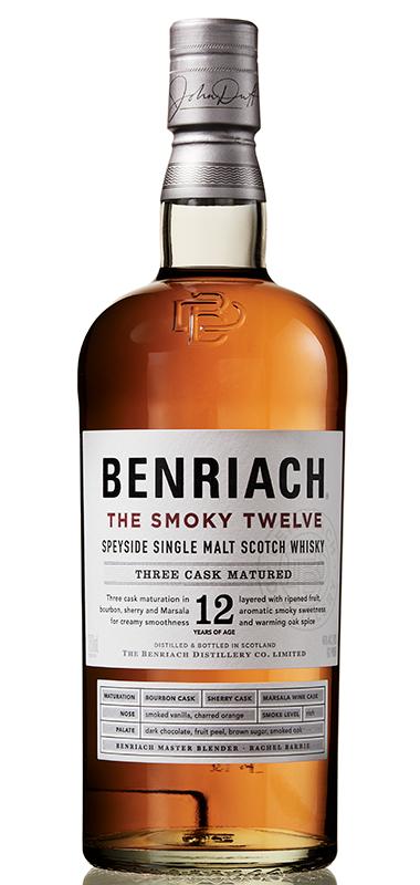 Benriach The Smoky twelve bottle shot
