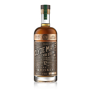 clyde may's 12 year old cask strength alabama whiskey