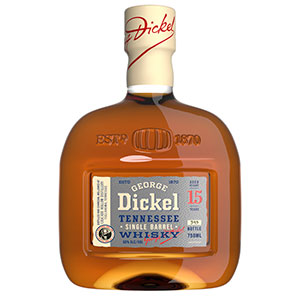 george dickel 15 year old single barrel