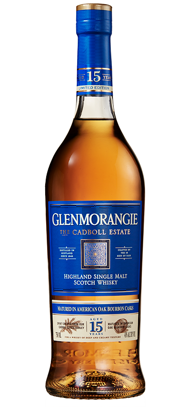 Glenmorangie Cadboll Estate 15 year old bottle shot