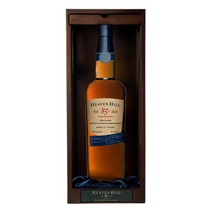 heaven hill 13 year old 85th anniversary bourbon bottle