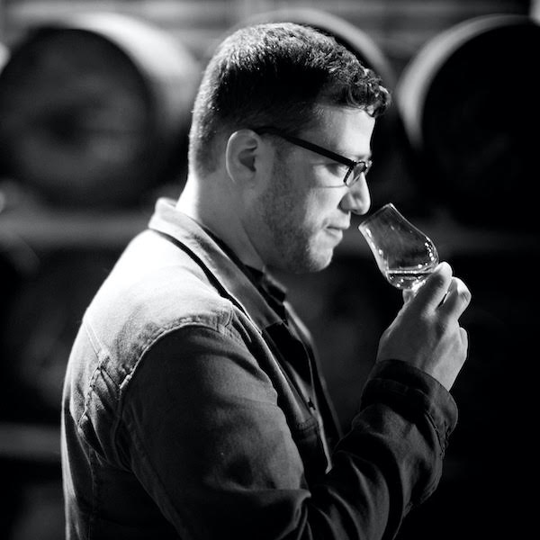 Joshua Hatton of Single Cask Nation noses a whisky glass