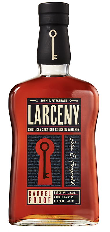 Larceny Barrel Proof bottle shot