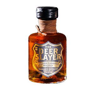 tamworth deer slayer venison whiskey bottle