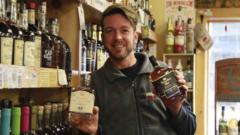 On the Hunt for Long-Lost Whisky, This Man Is Ready to Dig