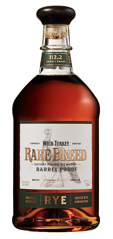 Wild Turkey Rare Breed Rye bottle shot
