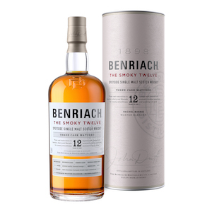 Benriach The Smoky 12 bottle.