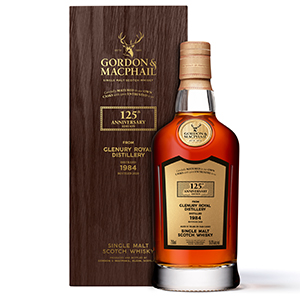 Gordon & MacPhail 125th Anniversary 1984 (Distilled at Glenury Royal; Cask No. 2335) bottle.