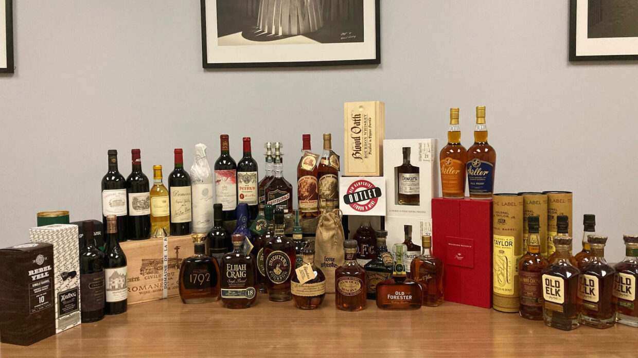 35 bottles of rare whisky being raffled by the new hampshire liquor commission