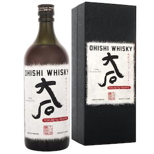 Ohishi Tokubetsu Reserve bottle.