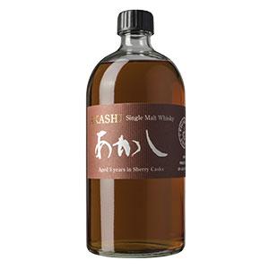 Akashi sherry cask bottle shot